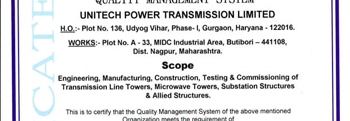 Unitech Power Transmission Limited